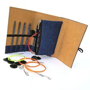 KnitPro Stricknadel Set Denim -  limitierte Special Collectors Edition mit auswechselbaren Nadelspitzen - 20632