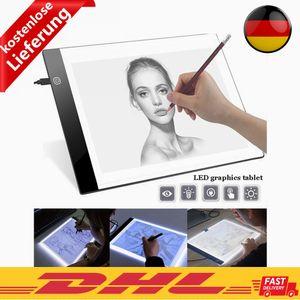 Zeichnung Tablet Ultradünne A5 Zeichenbrett LED IP65 Copy Pad Panel Sketch Boards Schulstudium