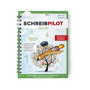 Schreibathlet Schreibpilot Schreib Athlet Pilot Zahlen mit Bleistift/Radiergummi