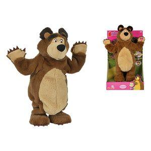 Simba Toys 109309894, Spielzeug-Bär, Braun, Mascha und der Bär, Plüsch, Bear, 16 Jahr(e)