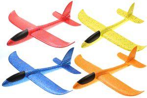 4X großes XXL Segelflugzeug Segelflieger aus Styropor/EPP 49*48*12,5cm Flugzeug Flieger Outdoor-Sport Wurf-Spielzeug (Mitgebsel 4er Set)