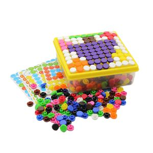 500 Stücke Kinder Puzzles Kreative Bausteine Kinder DIY Mosaik Set