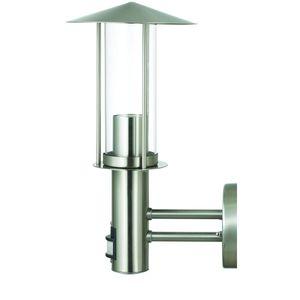 Edelstahl Wandleuchte Bewegungsmelder Wandlampe Außenleuchte Garten Gartenlampe