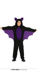 Fiestas Guirca kostüm Fledermaus junior schwarz Größe 140/148