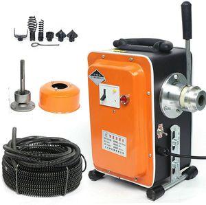 750W Rohrreinigungsgerät Rohrreiniger Rohrreinigungsmaschine Abflussreiniger 20-150 mm   für Rohrreinigung Kanalreinigung  in Bad oder Küche