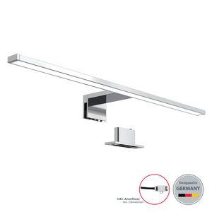 LED Spiegelleuchte Badezimmer-Leuchte Schminklicht inkl. 8W 780 Lumen LED-Platine Klemmleuchte neutral-weiß 230 V IP44 B.K.Licht
