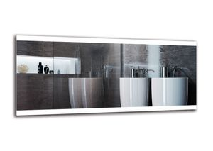 LED Spiegel PREMIUM - 180x80 cm - Badspiegel mit LED Beleuchtung - LED Lichtfarbe - Weiß kalt 6500K - Wandspiegel - Arttor - M1ZP-26-180x80