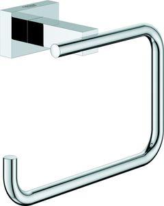 Grohe WC-Papierhalter CUBE ESSENTIALS ohne Deckel chrom