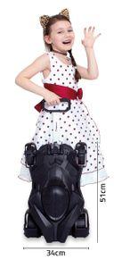 CUTLOPE Batmobil Kinderkoffer Kindertrolley Kinderauto Hartschalenkoffer Hartschalentrolley