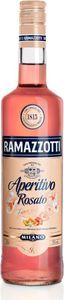 Ramazzotti Aperitivo Rosato mit Aromen von Hibiskus und Orangenblüten Milano Italien | 15 % vol | 0,7 l