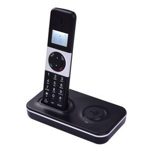 Digitales schnurloses Telefon Telefon mit LCD-Display Anrufer-ID Freisprechanrufe Telefonkonferenz 16 Sprachen Unterstuetzung 5 Mobilteile Verbindung fuer Office Business Home Family