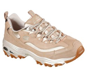 Skechers SPORT WOMENS D'LITES NATURAL WAVE Sneakers Damen Braun, Schuhgröße:39 EU