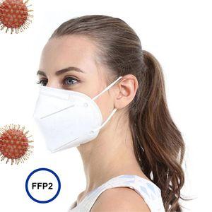 50x FFP2 NR Maske CE 2198 EU Zertifikat Mundschutz Filtration ≥ 94% EN 149:2001+A1:2009 Mund-Nasen Schutz Gesichtsmaske Atemschutz FFP2