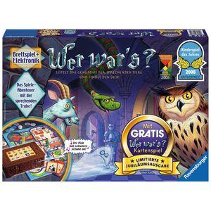 RAVENSBURGER Kinderspiel Wer war's? - Limitierte Jubiläumsausgabe Hybrid-Spiel