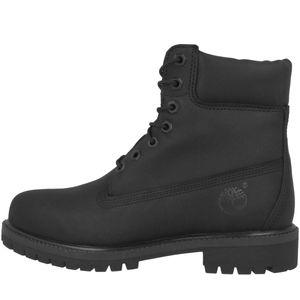 Timberland 6 Premium Herren Winterstiefel Schwarz Schuhe, Größe:42
