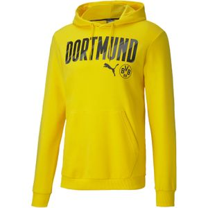 PUMA BVB Borussia Dortmund ftblCore Hoodie cyber yellow/puma black XXL