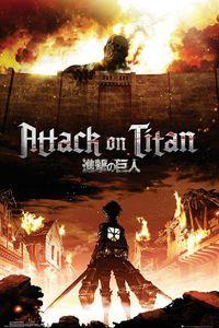 Attack On Titan Poster Manga / Anime 91,5 x 61 cm