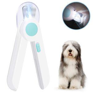 Krallenschere I Nagelknipser mit LED Licht für Hunde & Katzen Nagelschneider I viel sichere Krallenzange + Krallenfeile + Krallenpflege