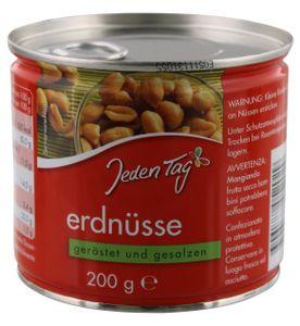 Jeden Tag Erdnüsse geröstet & gesalzen (200 g)