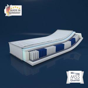 MSS SilverSpring 7 Zonen TFK-Matratze Premium 70x200x24 cm in H4
