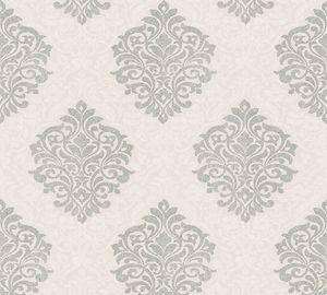 Architects Paper Vliestapete Alpha Ökotapete beige metallic 10,05 m x 0,53 m 324803 32480-3