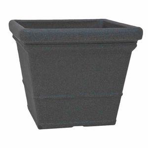 Gefäß Mila 40 schwarz-granit