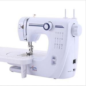 Mini-Nähmaschine, 12 Nähprogramme + LED-Nählicht, Haushaltsgerätenähmaschine, Nähprogramm für Anfänger, einstellbare Nähgeschwindigkeit