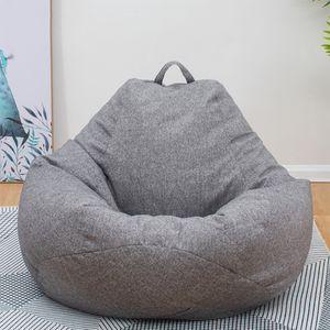 100*120CM No Filling Sitzsack Sofa Gaming Sessel Stuhl Gammer Sitzkisse Sack DE