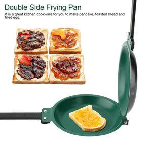 Pfannkuchenpfanne   Doppelpfanne  Pancake Crepes Keramik Pfanne   Antihaft-Pfanne