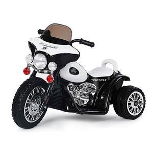 Trendmax Elektro Polizei Motorrad Dreirad Trike Chopper Kinderauto Kinderfahrzeug Elektromotorrad