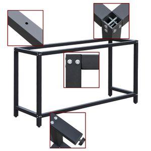 Werkbankgestell B50xL125xH80cm Tischgestell Arbeitstisch Werkbank Packtisch