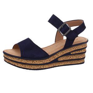 Gabor Sandalette  Größe 6.5, Farbe: bluette