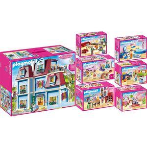 PLAYMOBIL 70205-6-7-8-9-10-11 Dollhouse 7er Set Pu