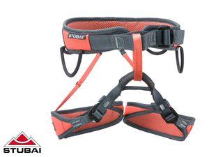 Stubai Triple Sitzgurt rot/ schwarz, Größe:Gr. M-XXL