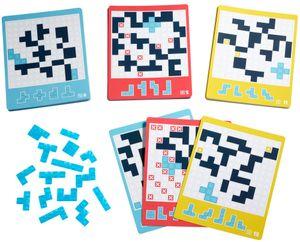 Mattel Games Blokus One, Strategiespiel, Spiel für eine Person