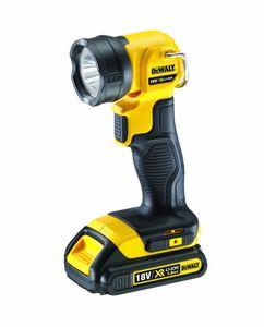 DeWALT Akku-Lampe LED DCL040-XJ - 18 Volt - Gewicht ohne Akku 0,6 kg - 110 Lumen
