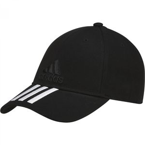 adidas Performance 3S Hat / Baseball Cap Damen Herren Schwarz S98156, Farbe:Schwarztöne, Größe Mützen adidas:OSFM - 58 cm - Einheitsgröße Herren