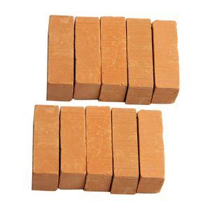 10er-Set 30 x 15 x 10 mm Backsteine Steine für Baukasten Modellbau