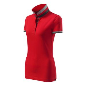 Modisches Damen Poloshirt Collar Up - Super Premium Stoff & Shirt Schnitt   100% Baumwolle   S - XXL