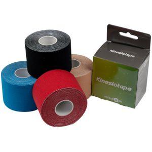 ELF Sports Kinesiologielogie Tape 5cm x 5m - in verschiedenen Farben, Farbe:Blau