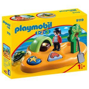 PLAYMOBIL 9119 1.2.3 Pirateninsel