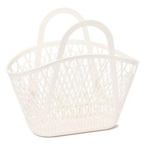 Sun Jellies Betty Basket - in verschiedenen Farben, Farbe:Cream