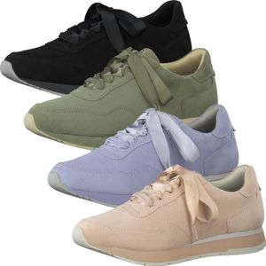 Tamaris Damen Schnürschuhe Sneaker Halbschuhe 1-23615-26, Größe:40 EU, Farbe:Grün