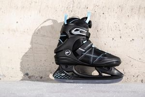 K2 Damen-Schlittschuhe ALEXIS ICE BOA black_blue Größe 38