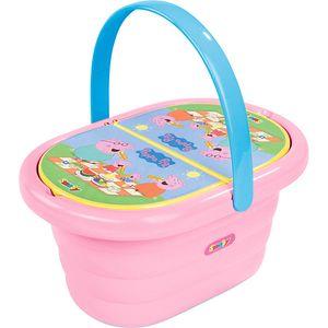 Smoby PEPPA PIG Picknick-Korb rosa