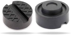 Wagenheber Gummiauflage stabil & universal nutzbar für Reifenwechsel am Wagenheber für PkW aus Gummi