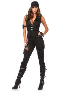 Deluxe SWAT Commander, Farbe:Black, Größen:S