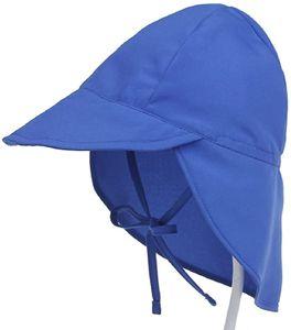 Baby Sonnenhut mit Nackenschutz Schirmmütze Anti-UV Hut Mütze Atmungsaktiv Strandhut Sommer Outdoor UV Schutz Hut