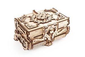 Ugears - Holz Modellbau Antique Box Antik Schatulle 185 Teile