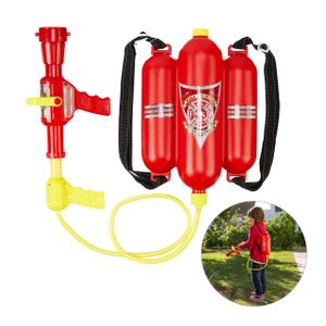 relaxdays Feuerwehr Wasserspritze Kinder